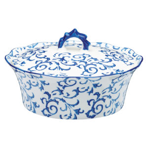 Heritage Casserole Blue