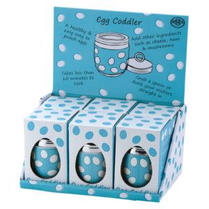 Egg Coddler Blue