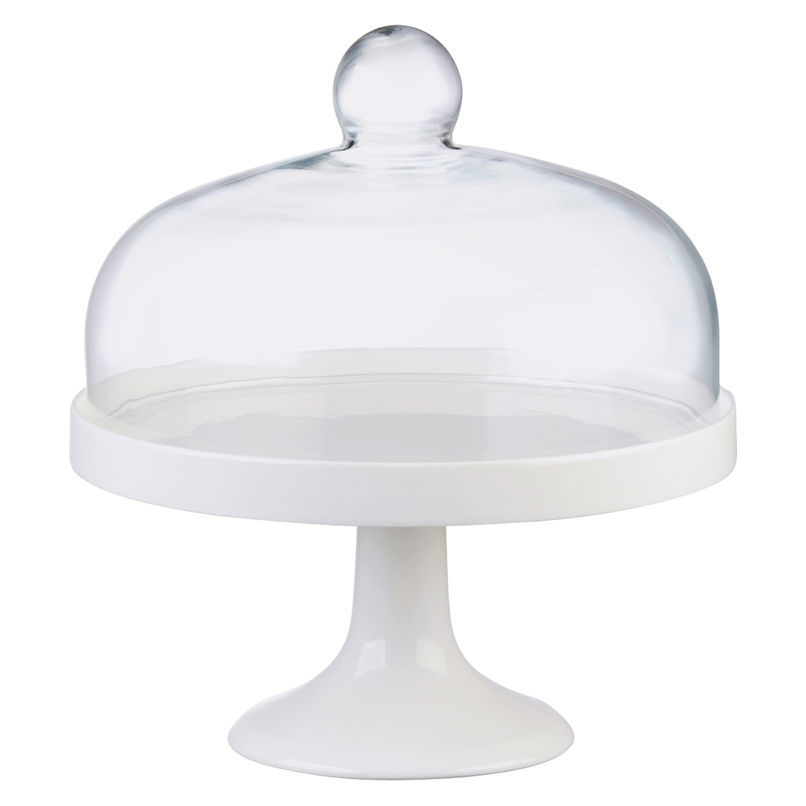 Elegance Cake Stand White - Complete Set