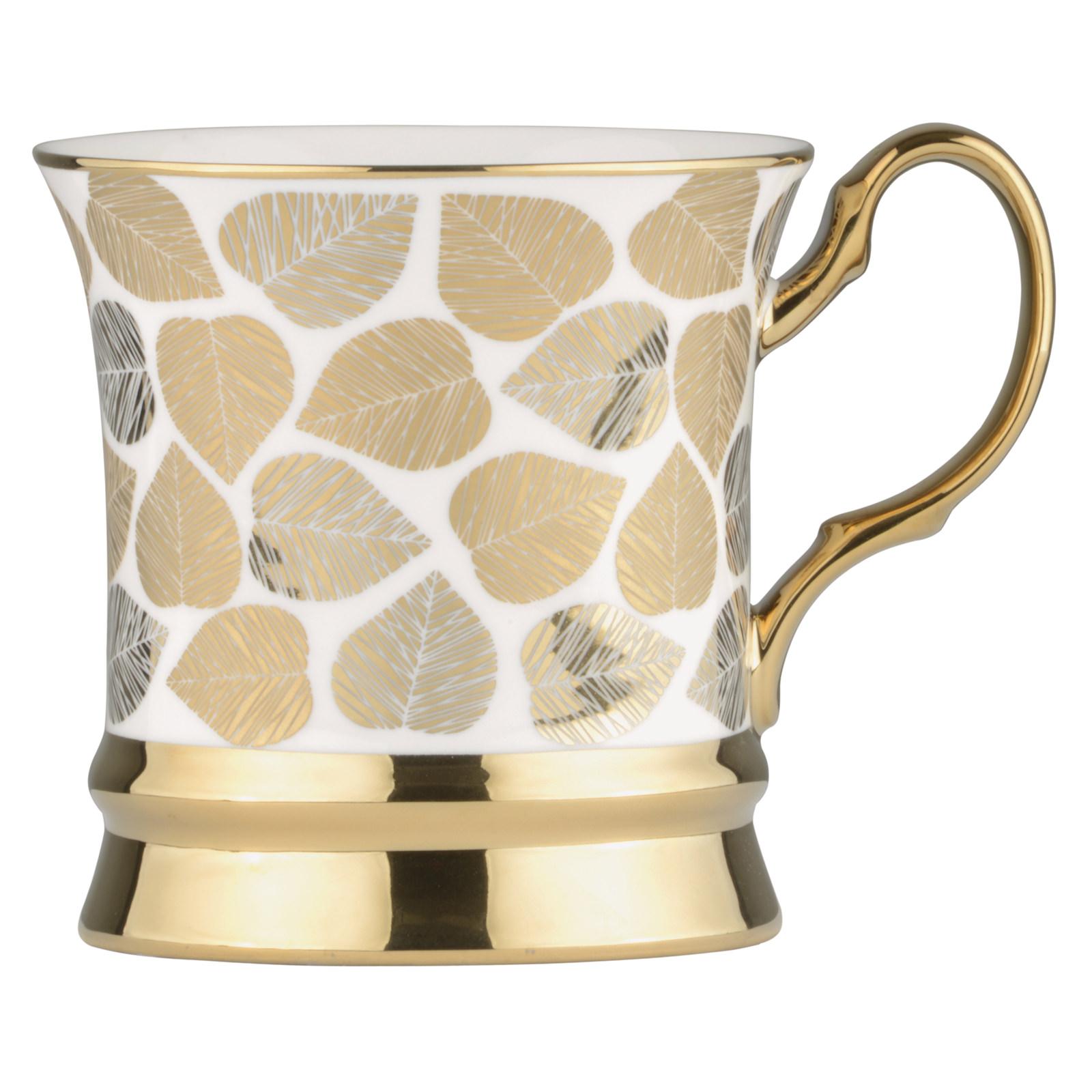 Leaf Mug Gold