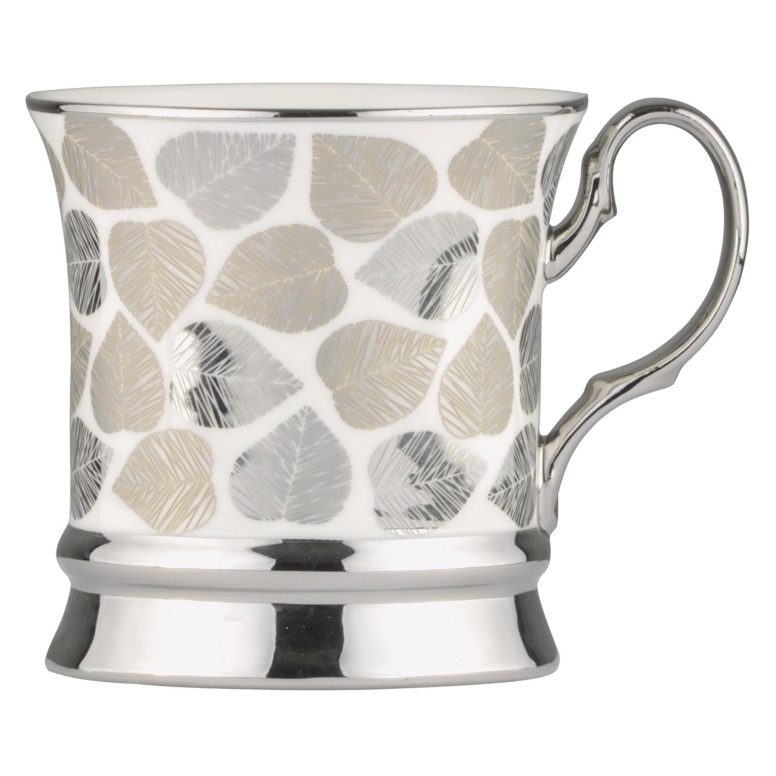 Leaf Mug Platinum