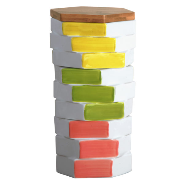 Totem Square Storage Jar